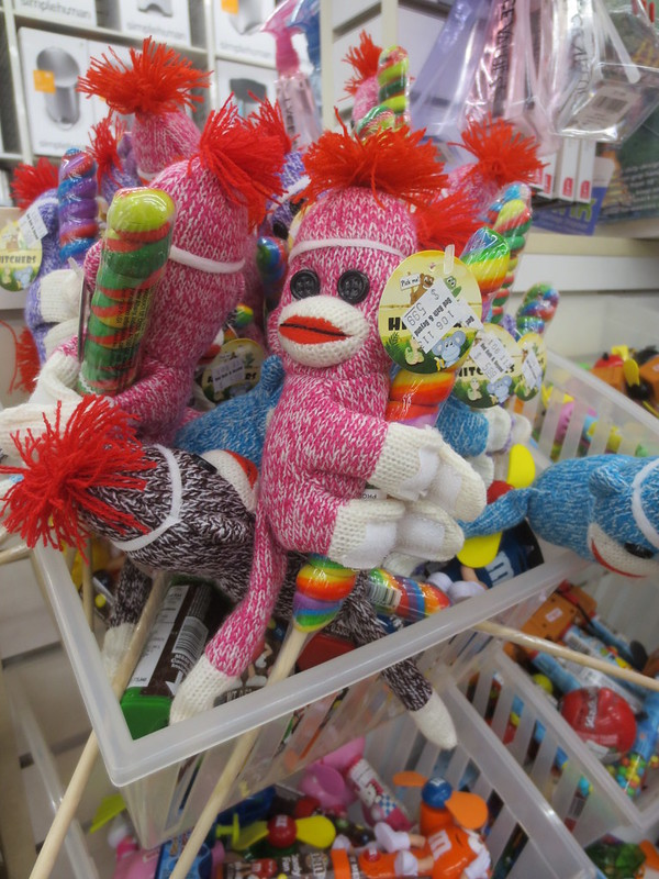 Velcro sock monkeys