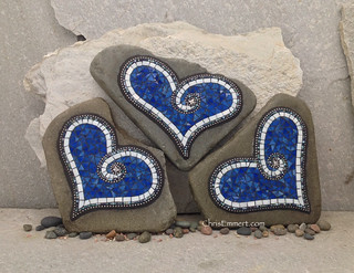 Mosaic  Garden Stone Commission
