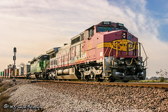 BNSF 925 | GE C40-9W | BNSF Thayer South Subdivision