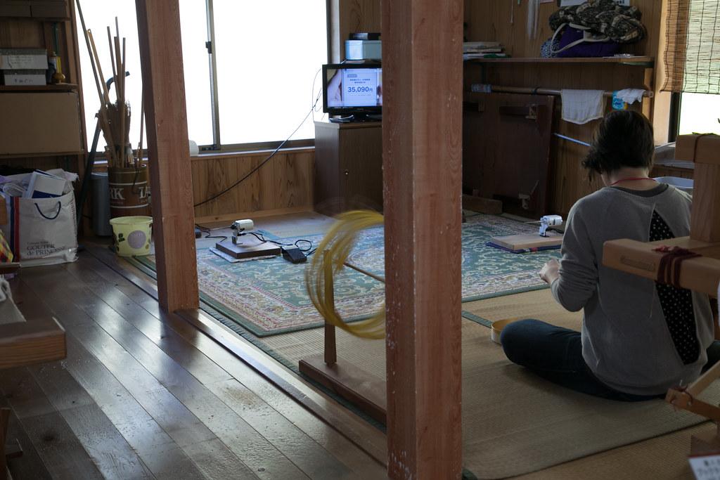 黄八丈織 めゆ工房 八丈島 取材 #tokyoreporter #tokyo #tamashima #hachijojima