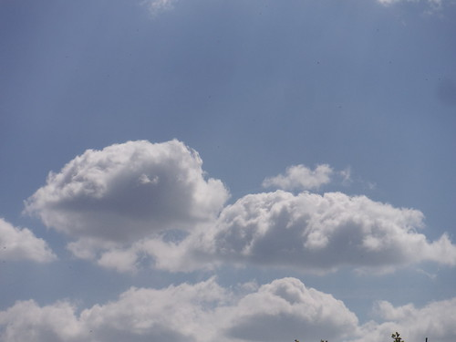 Clouds over Parslow's Hillock