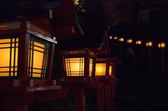 貴船神社にて