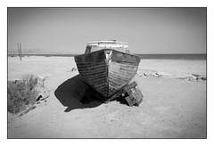 Boat at Salton Sea