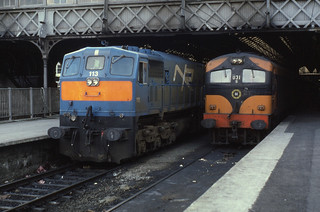13.09.86 Dublin Connolly 113 (NIR)  and 031
