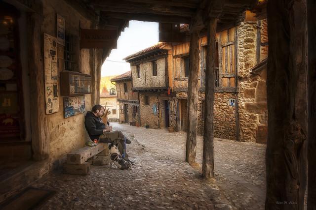Escenas en Calatañazor.