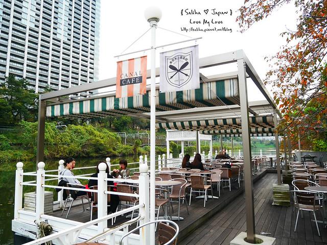 日本東京自由行賞櫻canal cafe水上餐廳 (12)