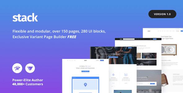 Stack WordPress Theme free download