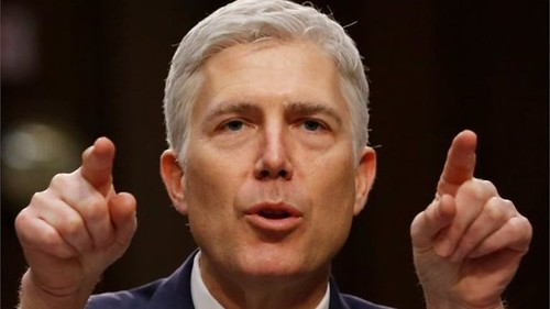 Supreme Court Justice Neil Gorsuch (confirmed April 2017)