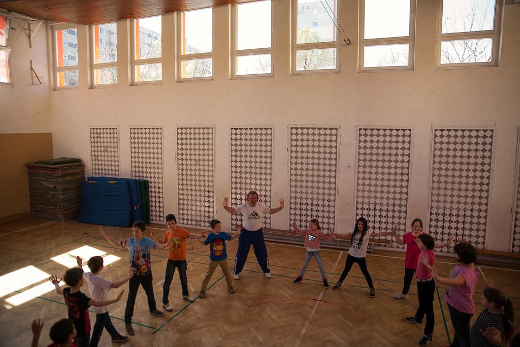 A harcművészetek alapja az önbizalom, a testtudat és a kiállás I Fotó: Magócsi Márton
