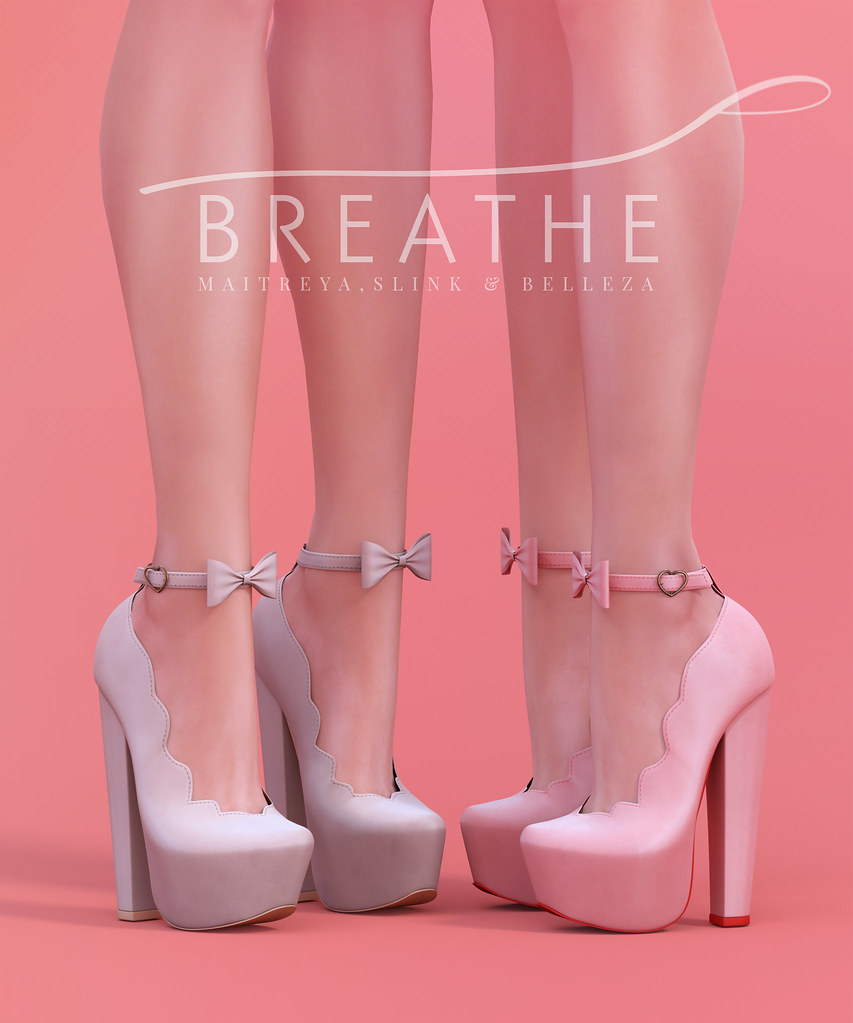 [BREATHE]-Liliane Heels - SecondLifeHub.com