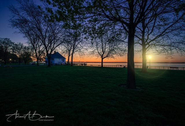 American Legion Purple Sunrise w PHOTOLOGO