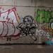 Beijing - under bridge Street Art