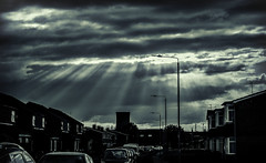 Drapers Lane. A Hedon dramatic sky!