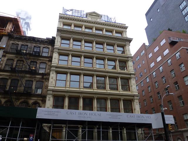 New York, NY 67 Franklin Street (Cast Iron House)