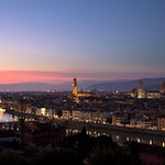 Sunset from Piazzale Michelangelo | Florence, Italy
