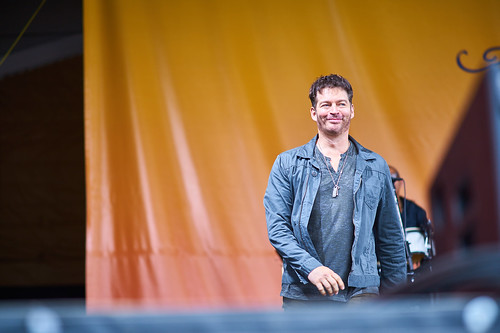 Harry Connick Jr on April 28 2017 Day 1 of Jazz Fest. Photo by Eli Mergel