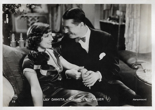 Maurice Chevalier and Lily Damita in Une heure près de toi