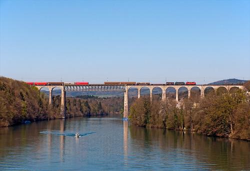 railroad switzerland railway trains zürich svizzera bahn mau freighttrain ferrovia treni re44ii 44696 nikond90 guterzuge