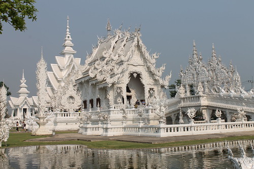 White temple splendor