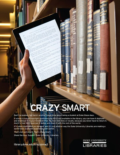 Digitize This Book Crazy Smart Ad