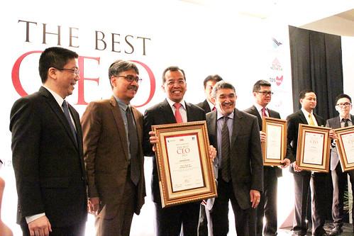 The Best CEO 2013: Emirsyah Satar.