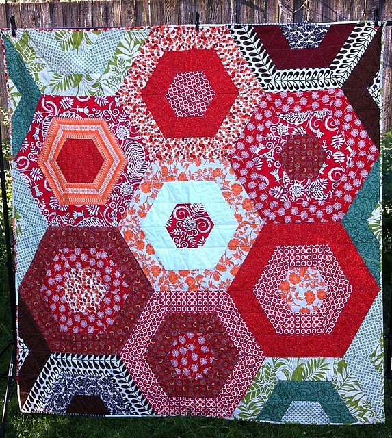 Sexy Hexy Love - Flower Quilt