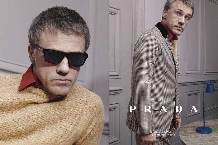 Prada_Menswear_FW13_Campaign_Christoph Waltz-1