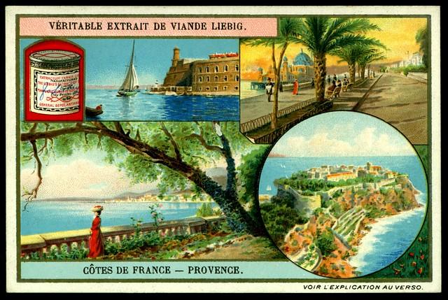 Liebig S953 The French Coastline ~ Provence