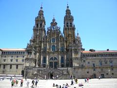 Iglesia de Santiago de Compostela - Galicia - España.