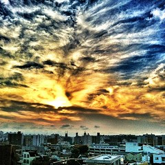 6:20pm #sunset in #yokohama
