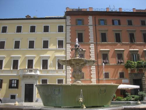 Piazza Farnese, behind Campo dei Fiori