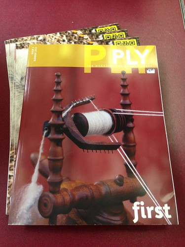 First issue of Ply Magazine has arrived!