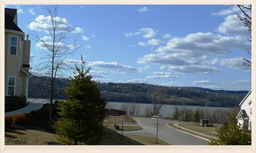 Overlook Pointe view of Hudson