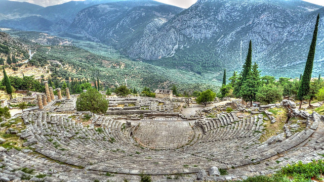 Theatro, Delphi, Greece