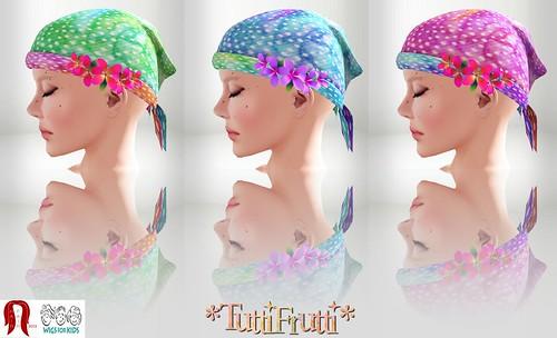 *TuttiFrutti* Bali - Bandana Day - Hair Fair 2013