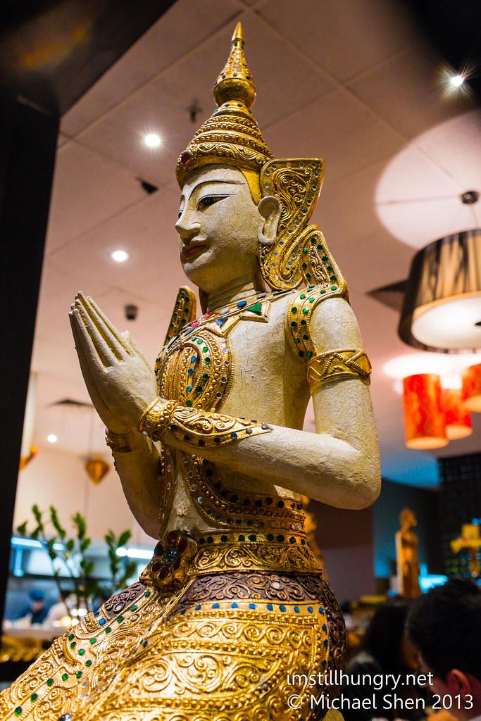 Holy Basil Statue