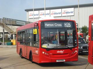 Abellio 8124 on Route H26, Hatton Cross