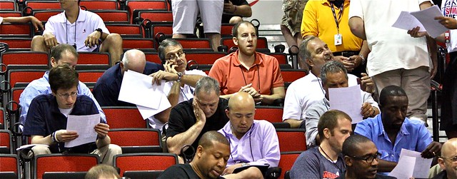 Wizards brass checks the stats - Washington Wizards - 2013 NBA Las Vegas Summer League