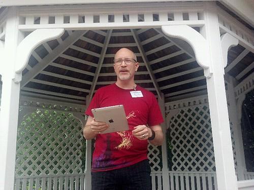 Brad Parks Reading at Readercon