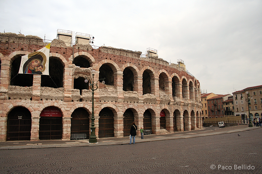 Arena de Verona. © Paco Bellido, 2006