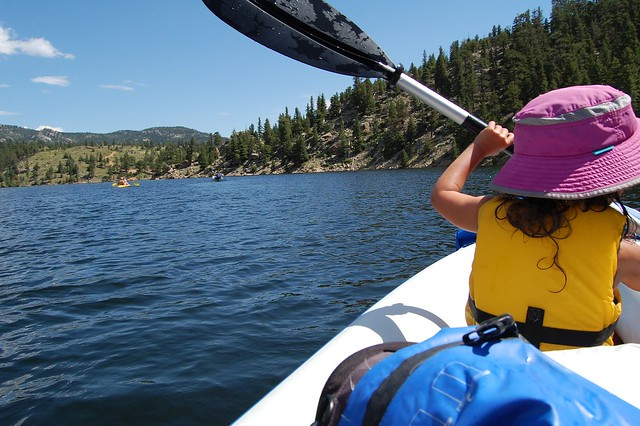 Camping and Boating, Gross Reservoir, CO