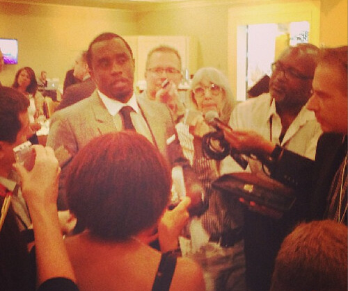 Diddy press conference