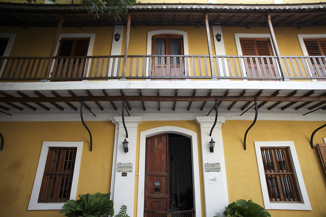 Colonial house in Pondicherry