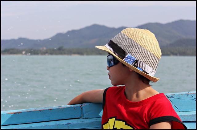 On the boat from Koh Yao Noi to Phuket