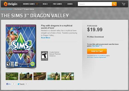 Dragon Valley origin