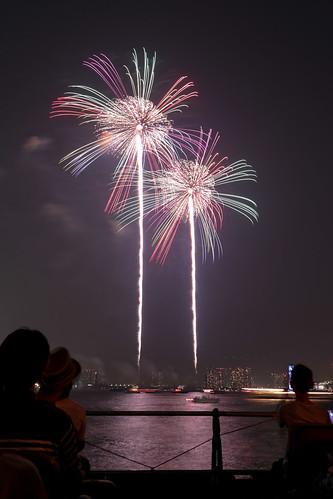 「昇曲付 大万華鏡」 by 磯谷尚孝 東京湾大華火 2013 Tokyo Bay Grand Fireworks
