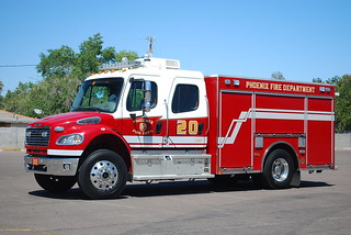 Phoenix Fire Dept. Ladder Tender 20