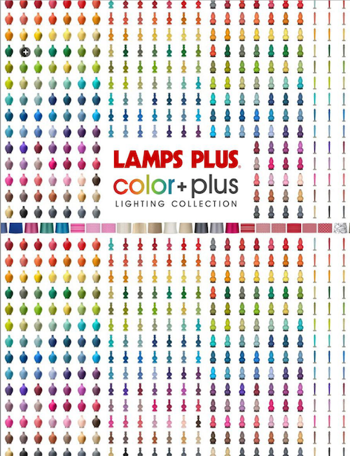 Jeanine Hays Featured in Lamps Plus Color Plus Lookbook