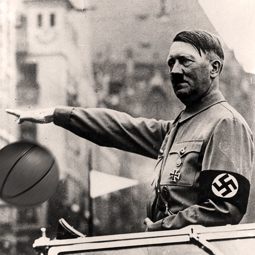 BASKETBALL FUHRER by WilliamBanzai7/Colonel Flick