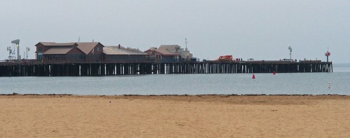 Santa Barbara, Stearns Wharf, early morning